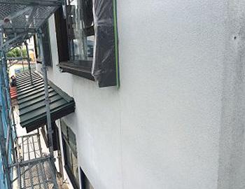 モルタル外壁面 施工前
