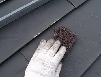 屋根のケレン
