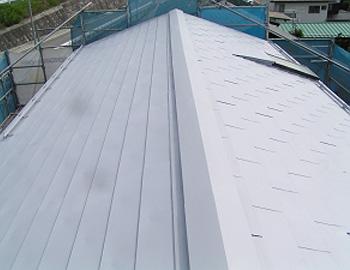 屋根(下塗り)