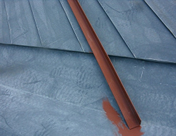 屋根(錆止め下塗り)