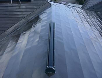 屋根(上塗り)