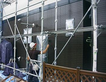 1階外壁(上塗り)