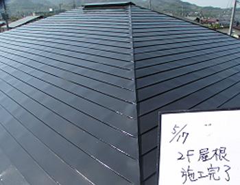 大屋根(上塗り)