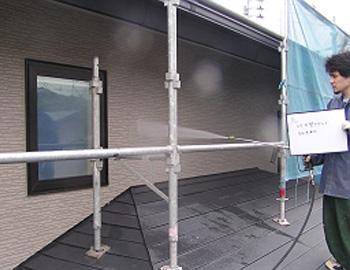 2階外壁(高圧洗浄)