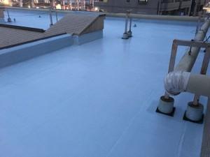 屋上防水改修工事完了01