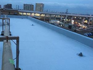 宮崎県仙台市マンション|屋上防水、改質アスファルトトーチ工法の施工事例