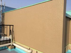 搭屋外壁塗装完了