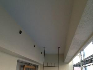 バルコニー天井塗装完了