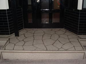 山形県山形市の店舗|土間のスプレーコンクリート事例