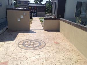 山形県山形市Y様邸|塀のモルタル造型の事例