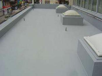 山形県山形市のRC造店舗|マイルーファー防水、環境対応型防水工事の事例