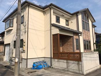 山形県寒河江市のS様邸|屋根:遮熱ロック、外壁:ガイナの事例