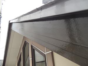 破風塗装工事