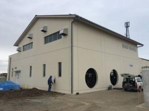 某排水処理場新築工事