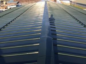 倉庫屋根塗装工事