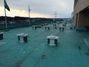 某合同庁舎屋上防水工事