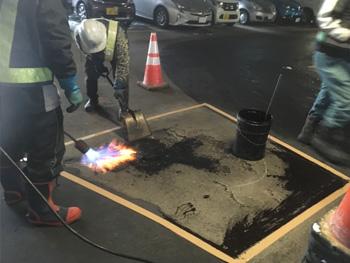 駐車場舗装