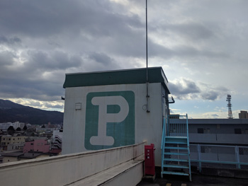 屋上ペントハウス施工前
