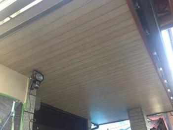 玄関天井面施工前