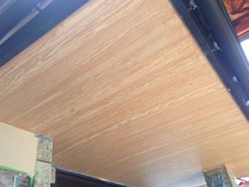 木目塗装完了