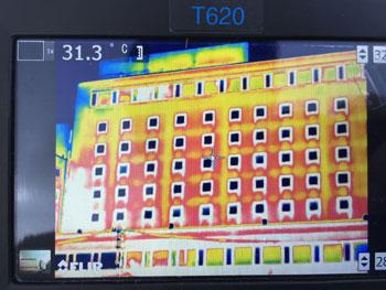 赤外線カメラ診断