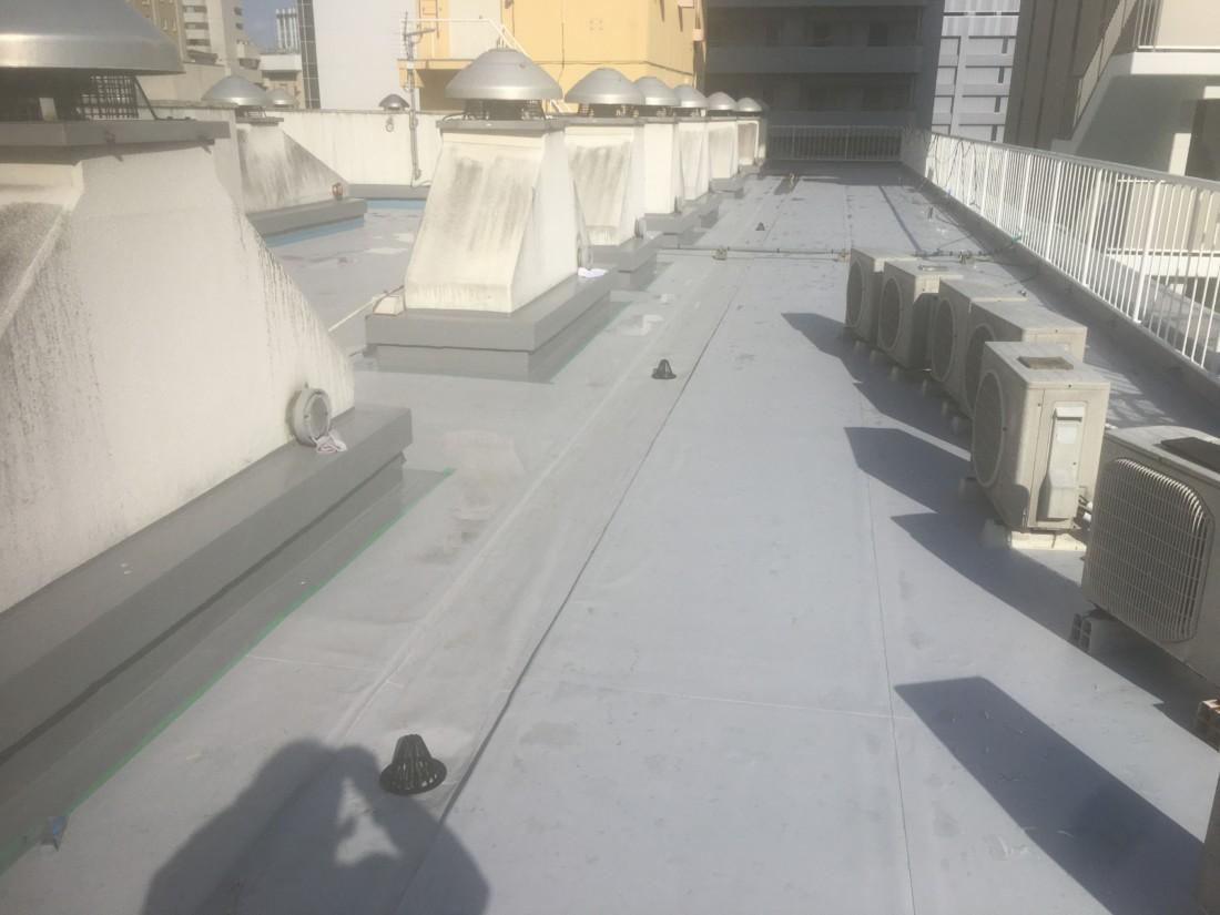 某ホテルの屋上防水工事|仙台市
