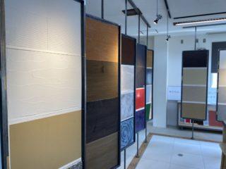 塗料と左官材のサンプル