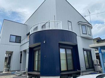 天童市T様邸雨漏り修繕工事|サッシ交換、FRP防水工事、外壁工事の事例