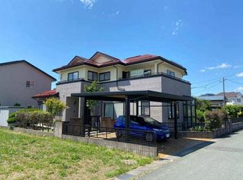山形県天童市I様邸|屋根外壁塗装⼯事「ネオフレッシュティアラ」