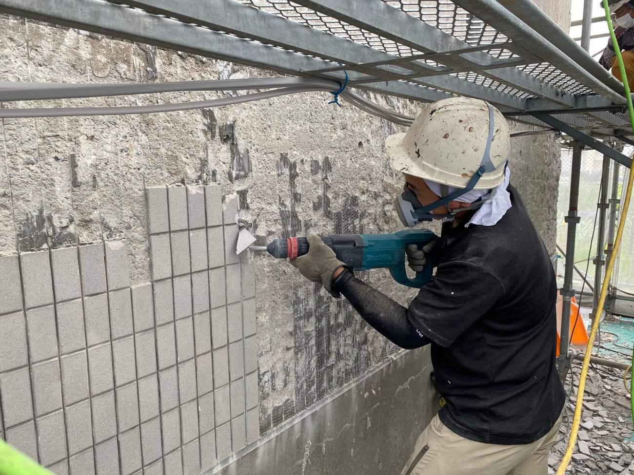 ALC外壁の新たな改修提案①