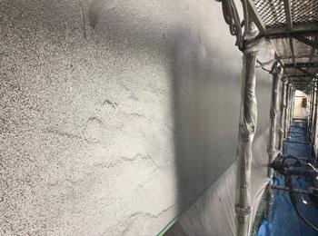 アクリルゴム塗膜防⽔材