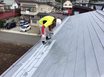 2階⼤屋根
