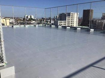 宮城県仙台市マンション|屋上ウレタン塗膜防水改修工事