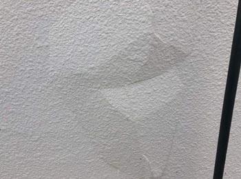 北面外壁補修